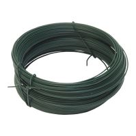 binding wire, plastic-coated, green, O 0,9 (0,65) mm / 30 m