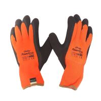 gloves Powergrab thermo,adherent surface