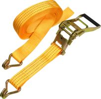 belt,clamping,hooks,ratchet, to 400kg, 50 mm x 8 m