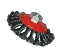 brush steel,type bowl,plait, M14, O 115 mm