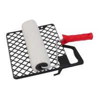 set Vestan, polyester knitted, with the roll holder and grille, 180 mm /O 6 mm