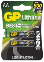 batteries GP Ultra Alkaline, FR6,AA, blister 2 pcs, 1,8 V