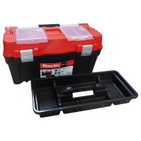 box, plastic,for tools,Practic, 458 x 257 x 245 mm