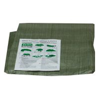 covering tarp,green, with metal eyelets, 15x20m standard