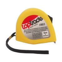 tape measure,nylon,2 brakes,25 mm x 7,5 m