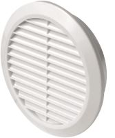ventilation grille, plastic, round, O 133 / 100 mm