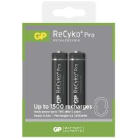 GP batteries ReCyko + Pro Professional charging, 2 pcs blister, HR6, AA, 1.2 V