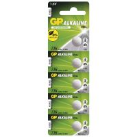 GP Alkaline batteries, special, button, LR 44, 5 pcs blister ,capacity of 110 mAh, 1.5V
