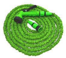 garden hose, flexible, plastic gun - sprayer, 7 function ,set, 7,5 / 22 m