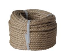 rope twisted ,natural with PP,without core,J-PP, O 12 mm x 20 m, Lanex