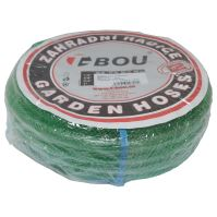 "garden hose transparent,green, 3"",25m"