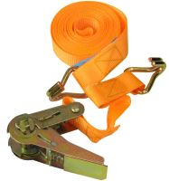 belt,clamping,hooks,ratchet, to 700kg, 25 mm x 5 m