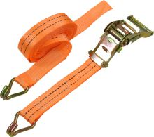 belt,clamping,hooks,ratchet, to 2000kg, 38 mm x 5 m